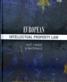 European Intellectual Property Law (Paperback)