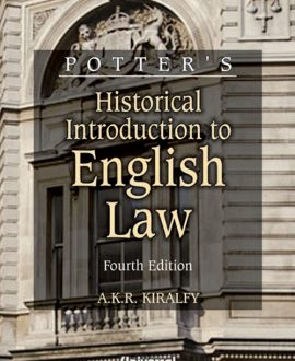 Historical Introduction to English Law (Second Indian Reprint)