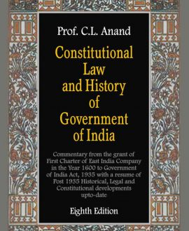 Constitutional Law and History of Government of India