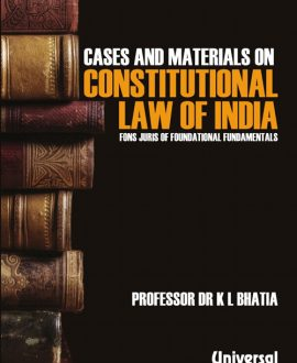 Cases & Materials on Constitutional Law of India