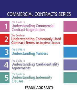 Commercial Contracts Series, (First Indian Reprint), (5 Vol.)