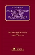 Guide to Company Precedents, Agreements Deeds andDocumentations with Practice Notes