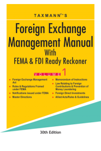 Foreign Exchange Management Manual (2 Vol.)