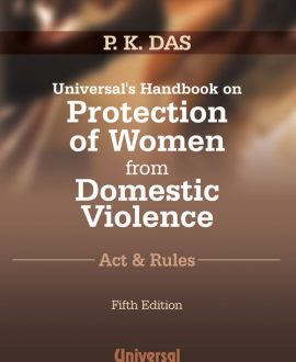 Handbook on Protection of Women from Domestic Violence Act and Rules