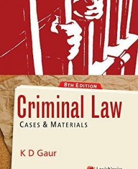 Criminal LawCases and Materials