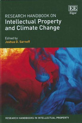 Research Handbook on Intellectual Property and Climate Change (Paperback)
