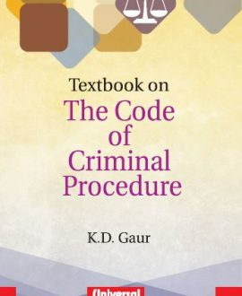 Textbook on The Code of Criminal Procedure