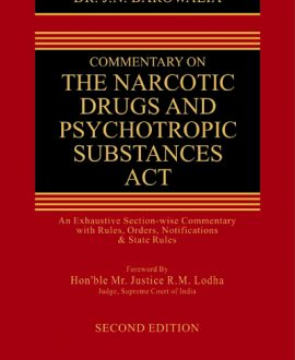 Commentary on The Narcotic Drugs and Psychotropic Substances Act