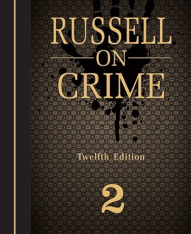 On Crime (Second Indian Reprint) (2 Vol.)