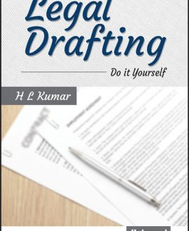 Legal Drafting: Do it Yourself