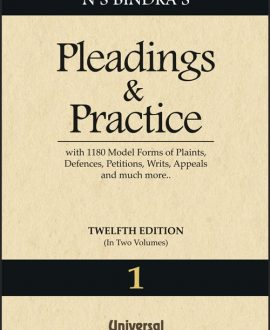Pleadings and Practice with more than 1180 Model Forms of Plaints, Defences, Petitions, Writs, Appeals and much more (2 Vol.)