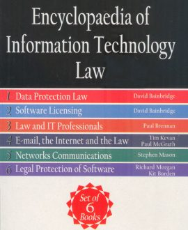 Encyclopaedia of Information Technology Law (Set of 6 Books)(Second Indian Reprint)