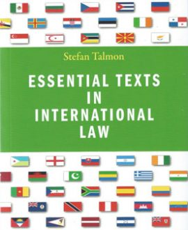 Essential Texts in International Law (Paperback)