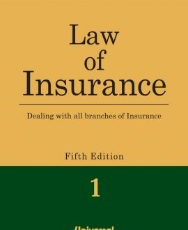 Law of Insurance - Dealing with all branches of Insurance (2 Vol.)