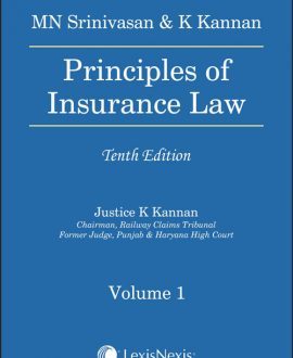 Principles of Insurance Law (2 Vol.)