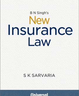 B N Singh's New Insurance Law