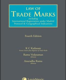 Law of Trademarks including International Registration under Madrid Protocol & Geographical Indications