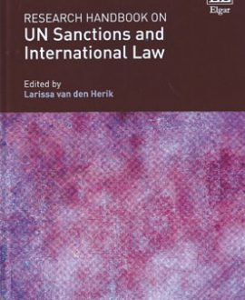 Research Handbook on UN Sanctions and International Law