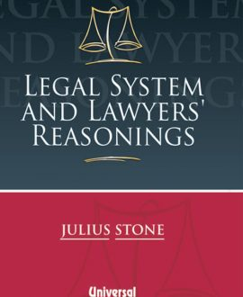Legal System and Lawyers Reasoning (Fourth Indian Reprint)