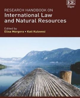 Research Handbook on International Law and Natural Resources