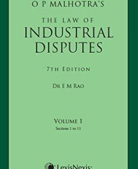 The Law of Industrial Disputes (2 Vol.)