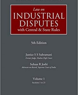 Law on Industrial Disputes (With Central and State Rules) (2 Vol.)