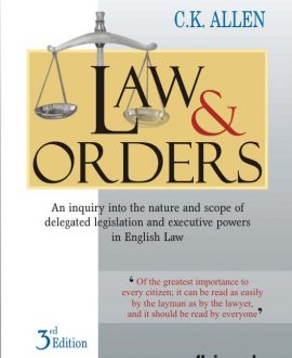 Law and Orders (Fourth Indian Reprint)