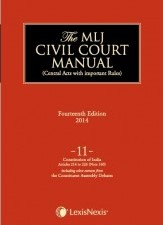 Civil Court Manual (Central Acts with important Rules); Constitution of India-Preamble to Article 21A; Vol 9