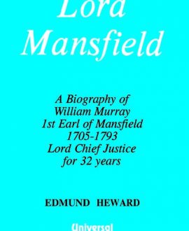 Lord Mansfield - A Biography (Second Indian Reprint)