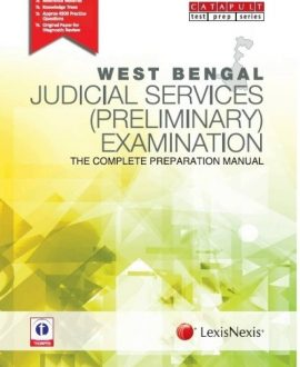 West Bengal Judicial Services (Preliminary) ExaminationThe Complete Preparation Manual
