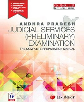 Andhra Pradesh Judicial Services (Preliminary) ExaminationThe Complete Preparation Manual