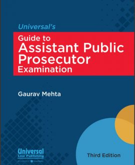 Universal's Guide to Assistant Public Prosecutor Examination