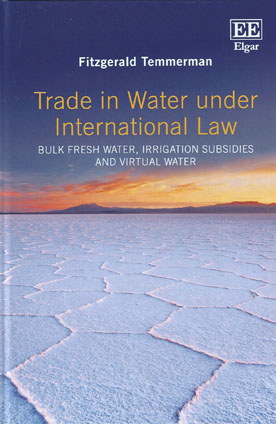 Trade in Water Under International Law