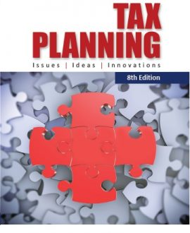 Tax Planning-Issues, Ideas, Innovations