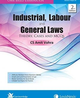 Industrial, Labour & General laws-Theory, Cases and MCQs