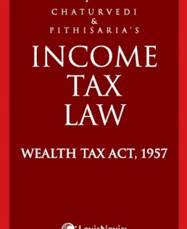 Income Tax Law -Wealth Tax Act, 1957