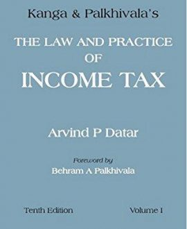 The Law and Practice of Income Tax (2 Vol.)