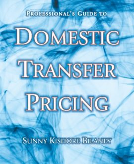Professionals Guide to Domestic Transfer Pricing