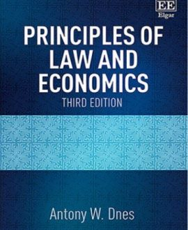 Principles of Law and Economics (Paperback)