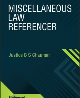 Miscellaneous Law Referencer