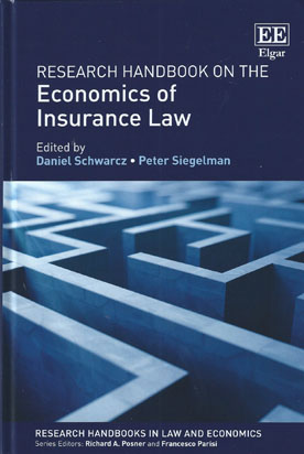 Research Handbook on the Economics of Insurance Law (Paperback)