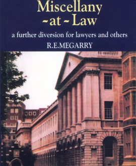 Miscellany-at-Law and A Second Miscellany-at-Law, (Second Indian Reprint) In 2 Parts