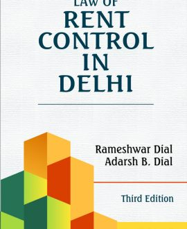Law of Rent Control in Delhi