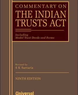 Commentary on the Indian Trusts Act