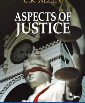 Aspects of Justice, (Fourth Indian Reprint)