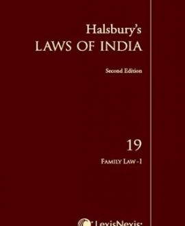 Halsbury's Laws of India-Family Law I; Vol 19