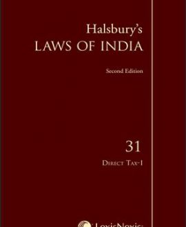 Halsbury's Laws of India-Direct Tax-I; Vol 31