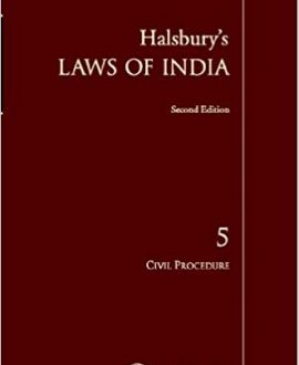 Halsbury's Laws of India-Civil Procedure; Vol 7
