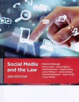 Social Media and the Law A definitive reference guide to social media and the law