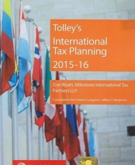 Tolleys International Tax Planning 2015-16